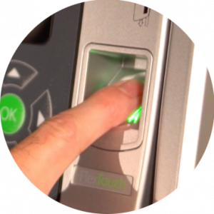 biometric key control
