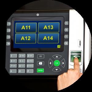 biometric key control system